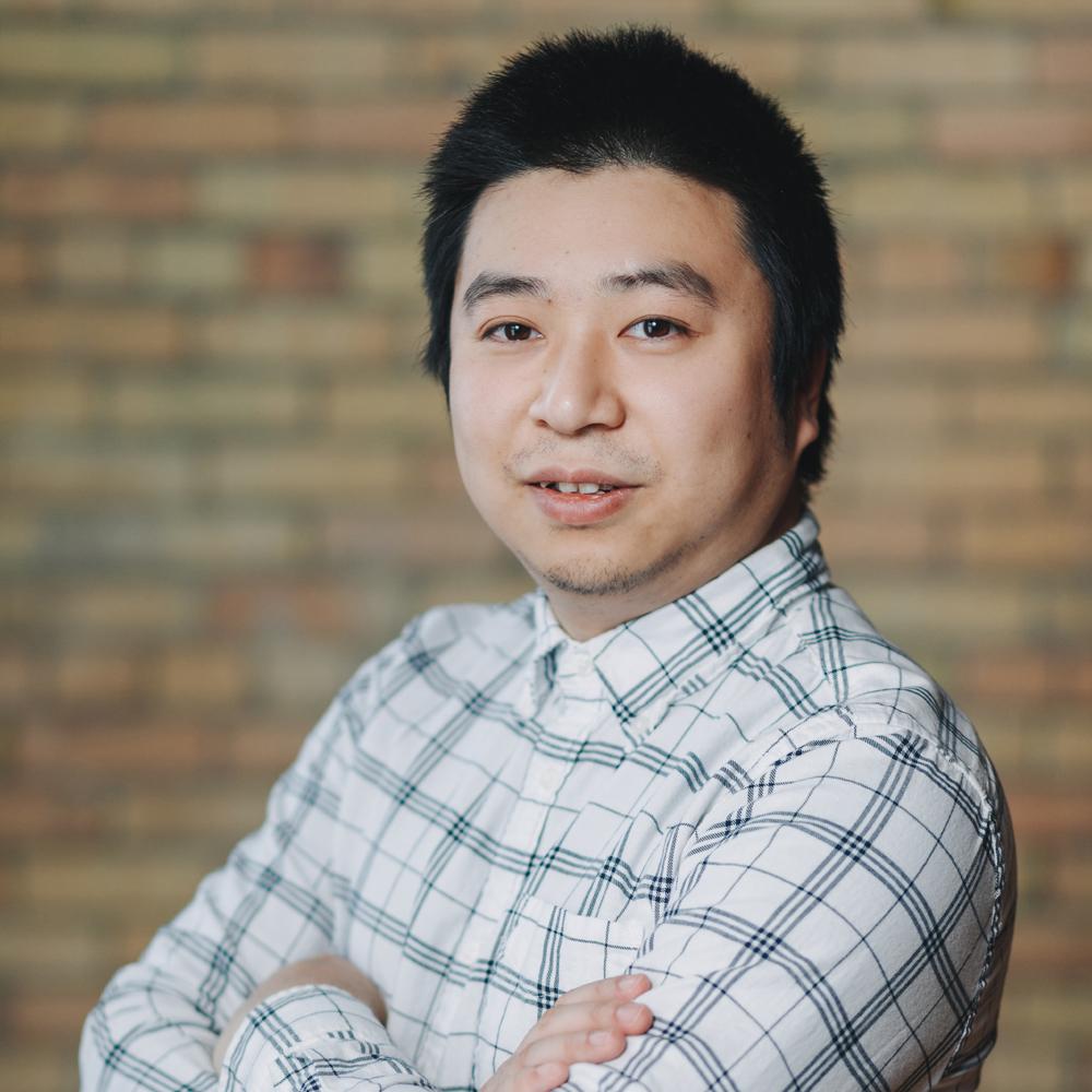 Headshot of Web Development Lead Jerry Guan