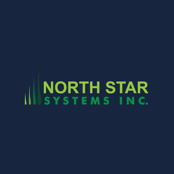 North Star Systems logo on blue background