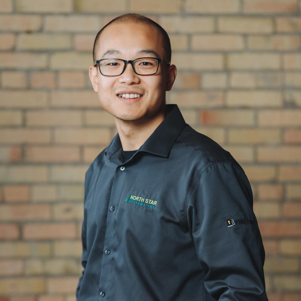 Headshot of Test and Assembly Technician Yuchen Li