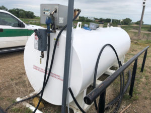 Fuel Tank with Fuel tattle system
